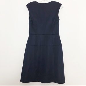 Reiss Dresses - Reiss Front Zip Navy Dress Size 10